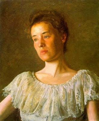 Eakins Thomas Portrait of Alice Kurtz