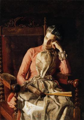 Eakins Thomas Portrait of Amelia C Van Buren