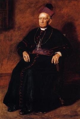 Eakins Thomas Portrait of Archbishop William Henry Elder