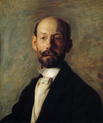 Eakins Thomas Portrait of Frank B  A  Linton