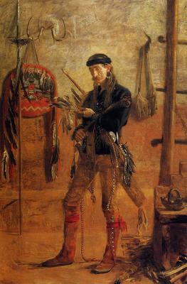 Eakins Thomas Portrait of Frank Hamilton Cushing
