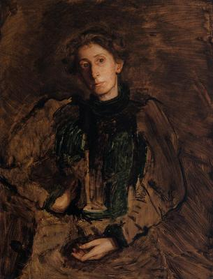 Eakins Thomas Portrait of Jennie Dean Kershaw