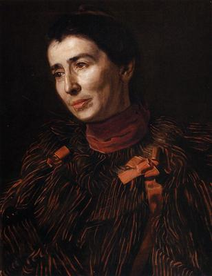 Eakins Thomas Portrait of Mary Adeline Williams2