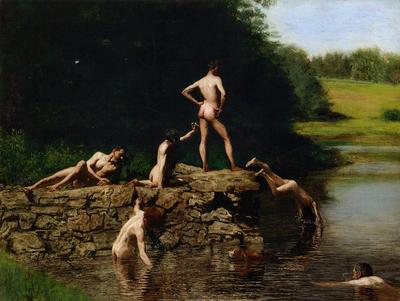Eakins Thomas Swimming