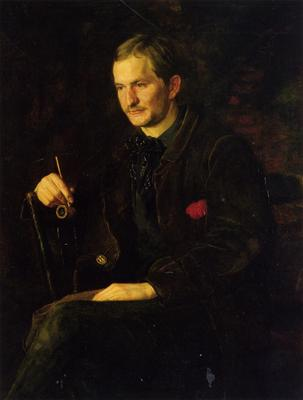 Eakins Thomas The Art Student aka Portrait of James Wright