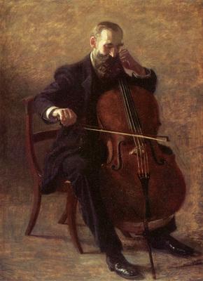 Eakins Thomas The Cello Player