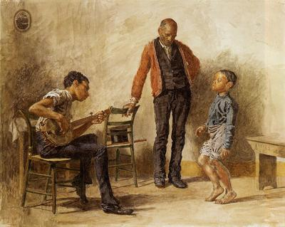 Eakins Thomas The Dancing Lesson