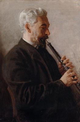 Eakins Thomas The Oboe Player aka Portrait of Benjamin