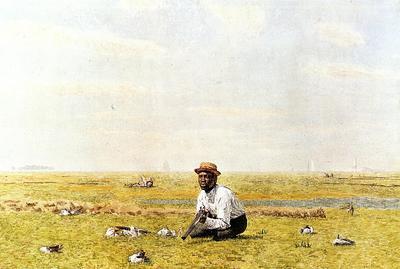 Eakins Thomas Whistling for Plover