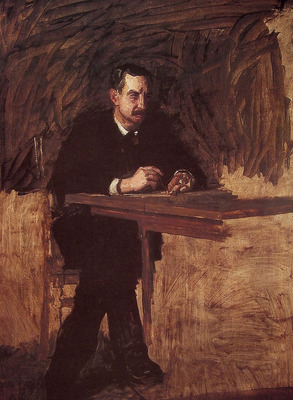 Portrait of Professor Marks