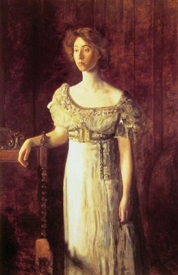 The Old Fashioned Dress Portrait of Miss Helen Parker