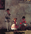 A Street Scene in Seville