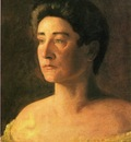 Eakins Thomas A Singer Portrait of Mrs  Leigo