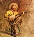 Eakins Thomas Cowboy Singing