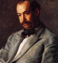Eakins Thomas Portrait of Charles Percival Buck