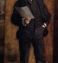 Eakins Thomas Portrait of Leslie W  Miller