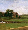 Eakins Thomas Study for The Meadows Gloucester New Jersey