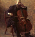 Eakins Thomas The Cello Player