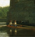 Eakins Thomas The Oarsmen aka The Schreiber Brothers