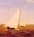 Sailboats Racing on the Deleware