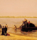 Shad Fishing at Gloucester on the Deleware River