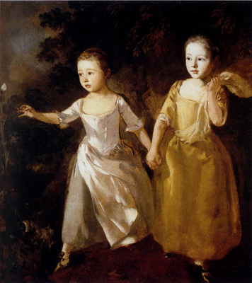 Gainsborough Thomas Painters Daughters
