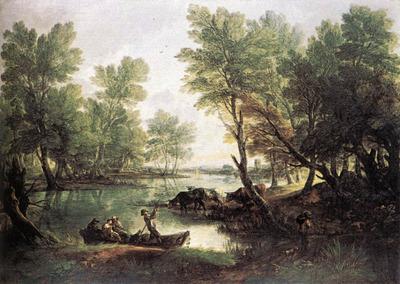 River landscape EUR