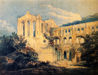 Girtin Thomas Rievaulx Abbey Yorkshire