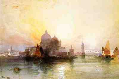 Moran Thomas A View of Venice