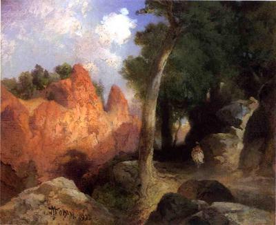 Moran Thomas Canyon of the Clouds
