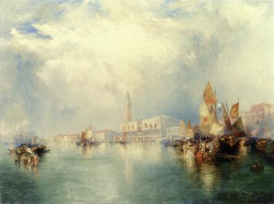 Moran Thomas Venice Grand Canal