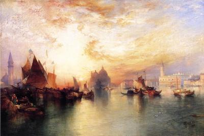 Moran Thomas Venice from near San Giorgio