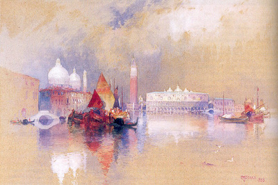 Moran Thomas View of Venice