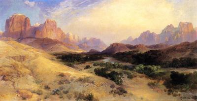 Moran Thomas Zion Valley South Utah