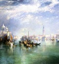 Moran Thomas Entrance to the Grand Canal Venice