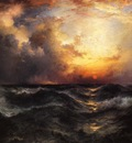 Moran Thomas Sunset in Mid Ocean