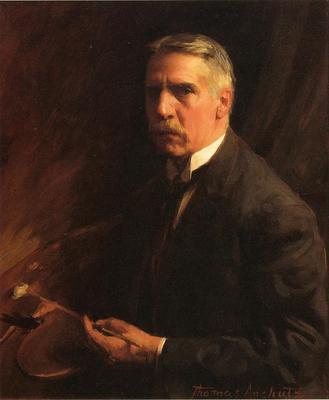 Anschutz Thomas P Self Portrait
