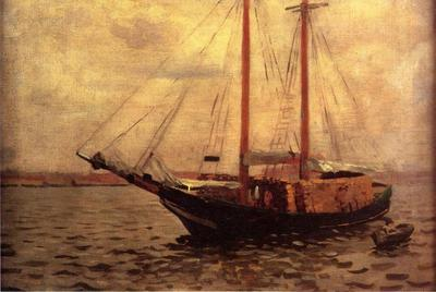 Anschutz Thomas P The Lumber Boat