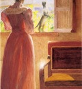Anschutz Thomas P Lady by a Window
