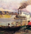 Anschutz Thomas P Steamboat on the Ohio2