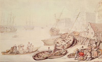 Rowlandson Thomas Greenwich Hospital
