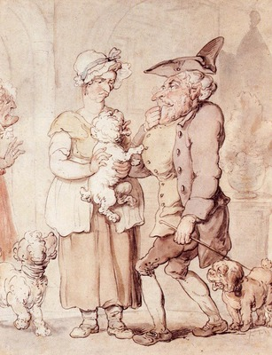 Rowlandson Thomas The Sick Dog