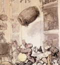 Rowlandson Thomas A Fall In Beer