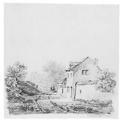 Cooper Thomas Sidney Village Landscape