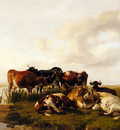Cooper Thomas Sidney The Lowland Herd