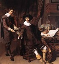 KEYSER Thomas de Constantijn Huygens And His Clerk