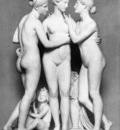 THORVALDSEN Berthel The Three Graces With Cupid