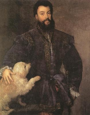 Titian Federigo Gonzaga Duke of Mantua