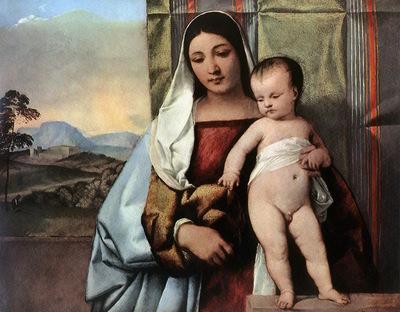 Titian Gipsy Madonna