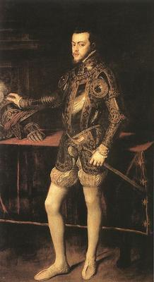 Titian King Philip II
